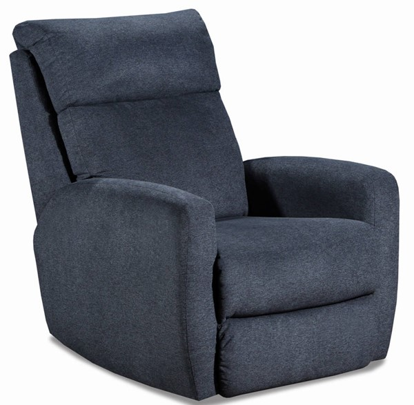 Southern Motion Primo Navy Lay Flat Lift Recliner The