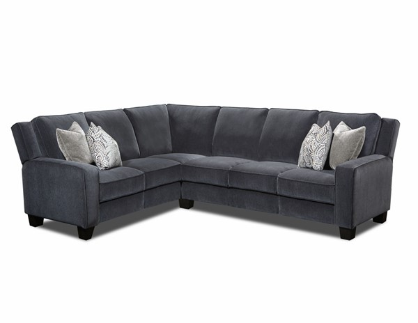 Southern Motion West End Grey Power Headrest Reclining Sectional STHN-68577P-WESTEND-PWRHD-SEC