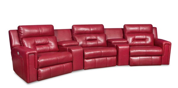 Southern Motion Excel Red Home Power Headrests Theater Group STHN-86605P-45-90P-45-06P-90511