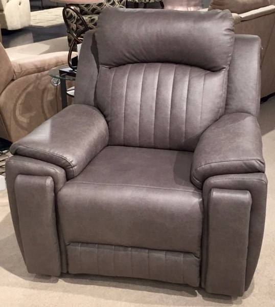 Southern Motion Silver Screen Grey Power Headrest Wall Hugger Recliner with Hidden Cupholders STHN-6743P-16714