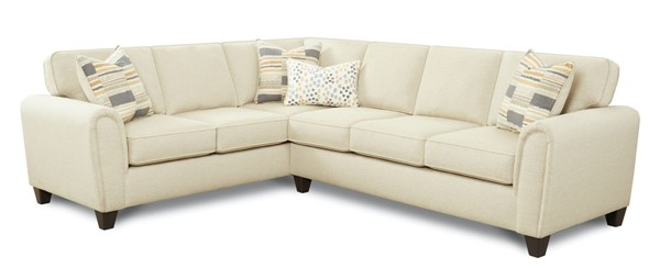 Southern Motion Max Polypropylene Sectional STHN-49-31R-33L-MAX-LINEN