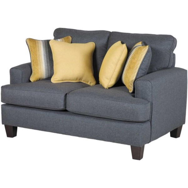 Southern Motion Maxwell Gray Fabric Loveseat STHN-2601-MAXWELL-GY-LS