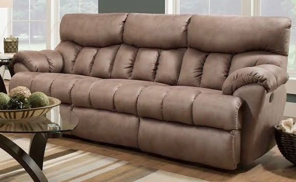 Southern Motion Re Fueler Brown Latte Double Reclining Sofa STHN-81331-27617