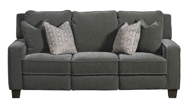Southern Motion West End Grey Power Reclining Sofa STHN-685-32P-229-14-390-11