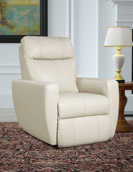 Southern Motion Knock Out Cream Rocker Recliner with Power Headrest STHN-5865P-95615