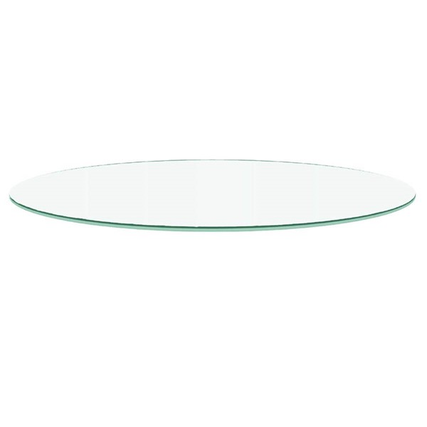 Star International Clear 72 Inch Round Dining Table Top STR-E-0317-72RT-CLR