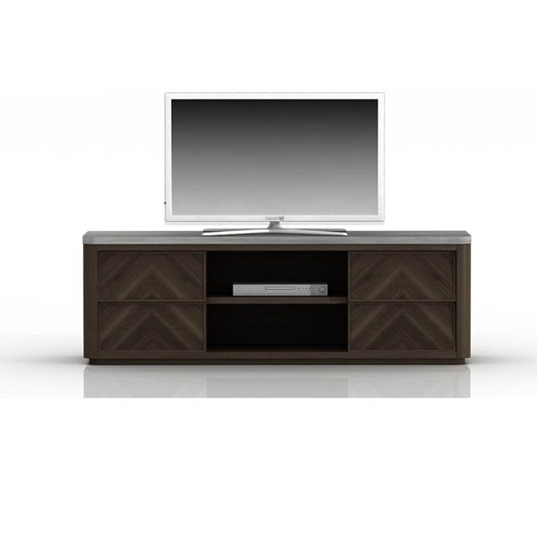 Star International Apex Cinder Brushed Slate Grey TV Unit STR-4598-CIN-SLA-GRY