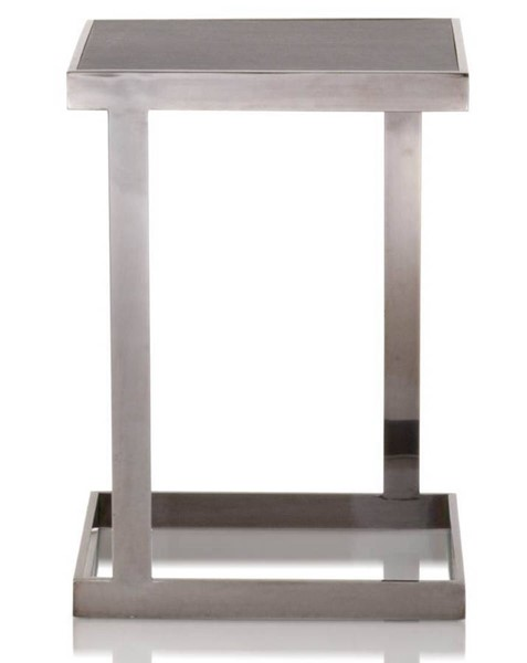 Star International Benson Black Wash Oak End Table STR-2455-ET-BWO