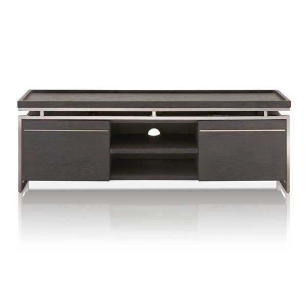 Star International Benson Black Wash Oak TV Unit STR-2455-TV-BWO