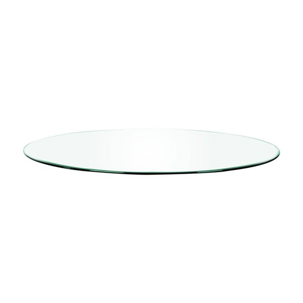 Star International Clear 60 Inch Round Dining Table Top STR-E-0317-RT-CLR
