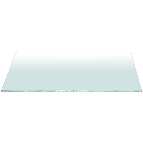 Star International Clear Rectangle Dining Table Top STR-E-0317-DT-CLR
