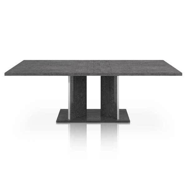 Star International Noble Grey Birch Gloss Extension Dining Table STR-2155-EXDT-GBHG