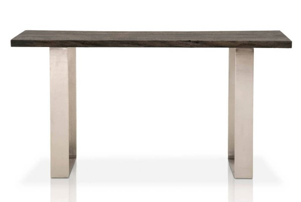 Star International Sodo Brushed Charcoal Oak Sofa Table STR-4624-BNIC-BCO