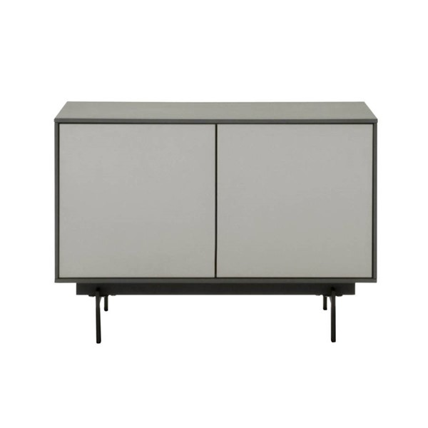 Star International Symphony Matte Grey 2 Door Modular TV Stands STR-1402-TV-VAR