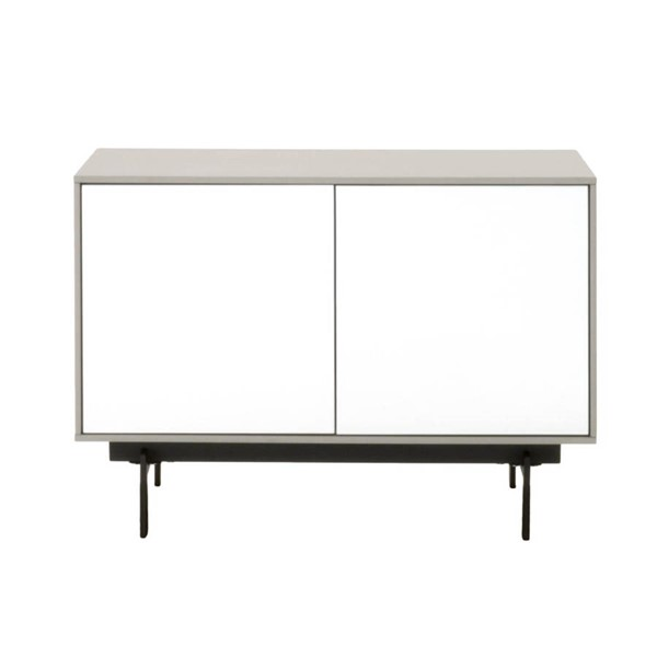 Star International Symphony Gloss White 2 Door Modular TV Stand STR-1402-TV-MLG-WHG-B