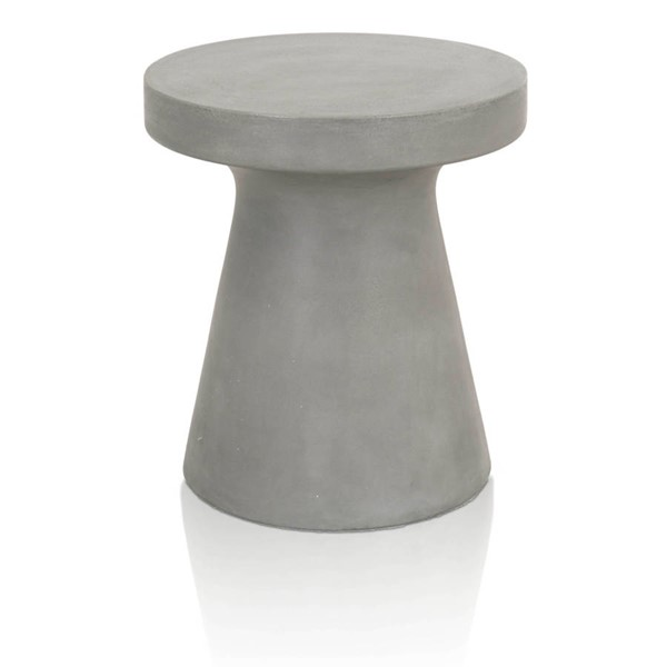 Star International Tack Slate Grey End Table STR-4611-SLA-GRY