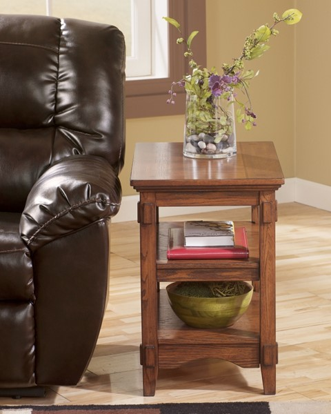 Ashley Furniture Cross Island Rectangle End Table T719-7