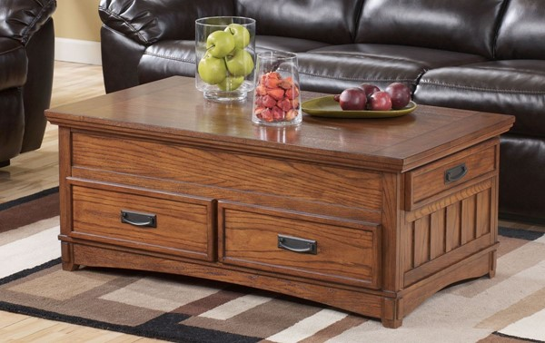 Ashley Furniture Cross Island Lift Top Storage Cocktail Table T719-9