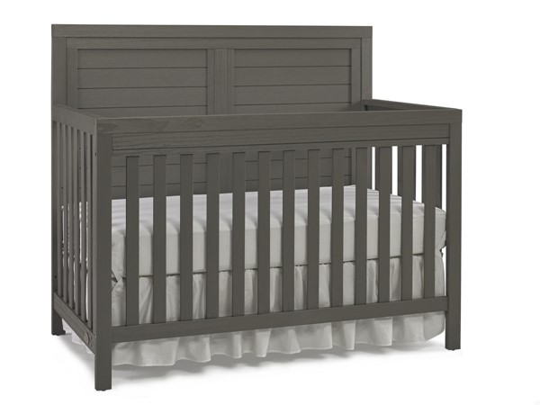 TiAmo Castello Weathered Grey Full Panel Crib TMO-148004-53