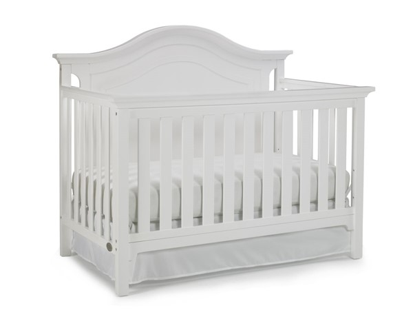 TiAmo Catania White Grey Convertible Cribs TMO-146501-CRIB-VAR1