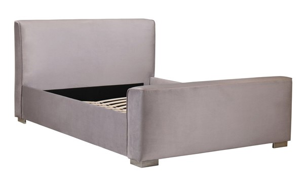 TOV Furniture Madison Grey Velvet Queen Bed TOV-B68182