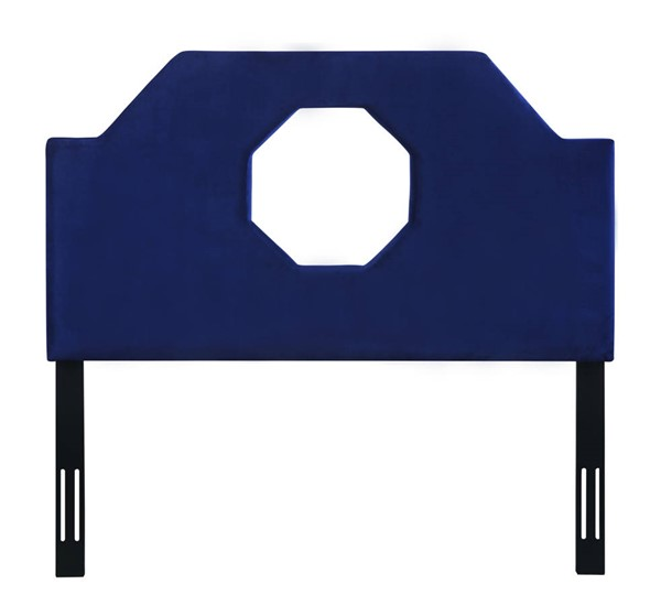 TOV Furniture Noctis Navy Velvet King Headboard TOV-B70-K