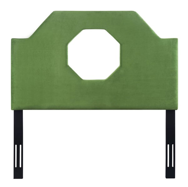 TOV Furniture Noctis Green Velvet Twin Headboard TOV-B80-T