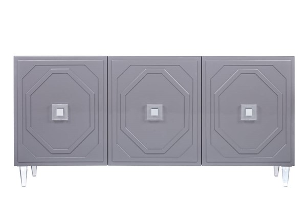 TOV Furniture Andros Grey Lacquer Buffet TOV-D4101