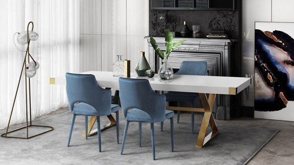 TOV Furniture Aquila 5pc Dining Sets TOV-D4302-DR-S-VAR