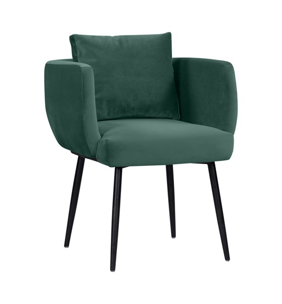 TOV Furniture Alto Forest Green Velvet Dining Chair TOV-D44043