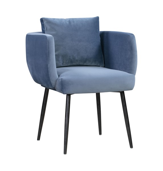 TOV Furniture Alto Blue Velvet Dining Chair TOV-D44046