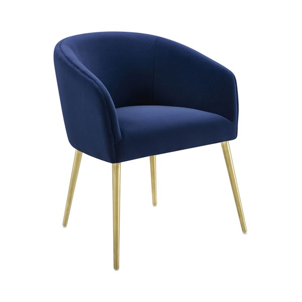 TOV Furniture Arya Navy Velvet Dining Chair TOV-D6422