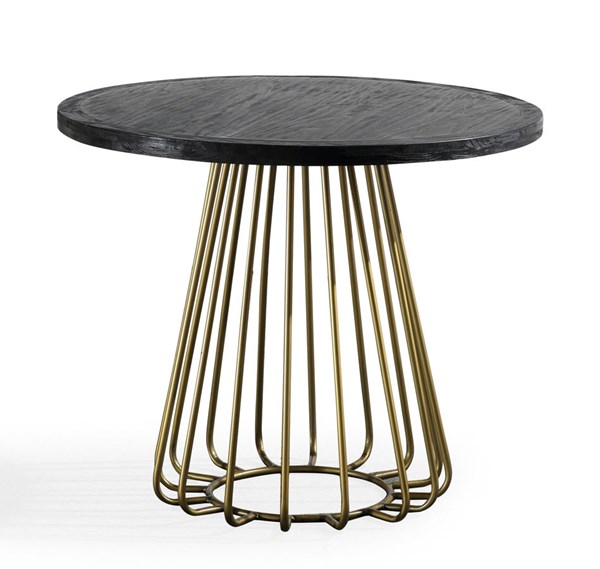 TOV Furniture Madrid Matte Black Table TOV-G5480