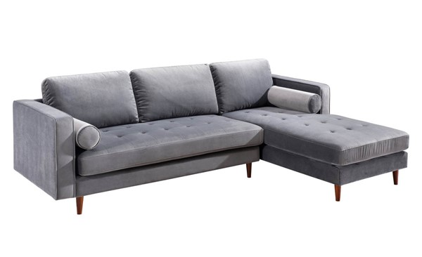 TOV Furniture Como Velvet RAF Sectionals TOV-L4109-L4127-SEC-VAR