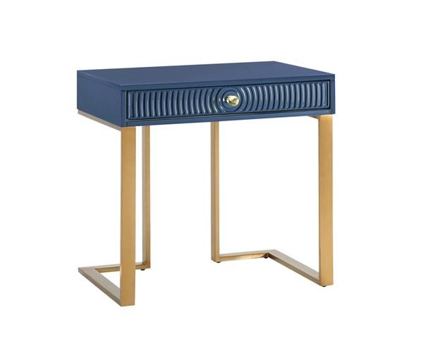 TOV Furniture Janie Blue White Lacquer Side Tables TOV-L5522-ET-VAR
