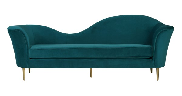 TOV Furniture Plato Aqua Blush Velvet Sofas TOV-L6212-SF-VAR