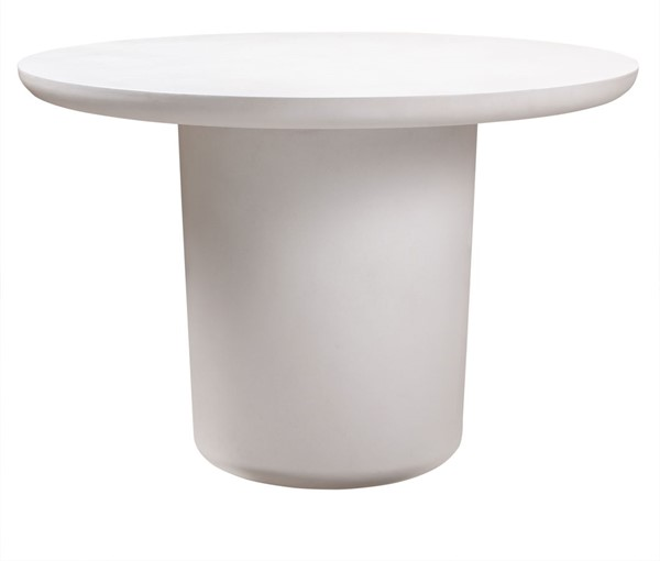TOV Furniture Roxie Ivory Concrete Dining Table TOV-O44066