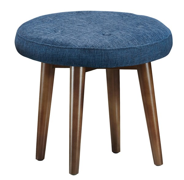 Malmo Linen Wood Tufted Upholstered Seat Stools TOV-O4-VAR