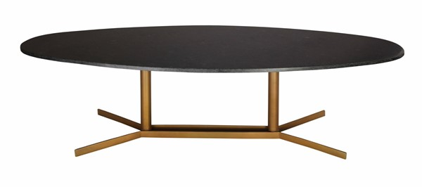 TOV Furniture Gemma Black Gold Cocktail Table TOV-OC18162