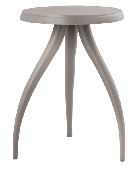 TOV Furniture Sia Grey Textured Side Table TOV-OC18226