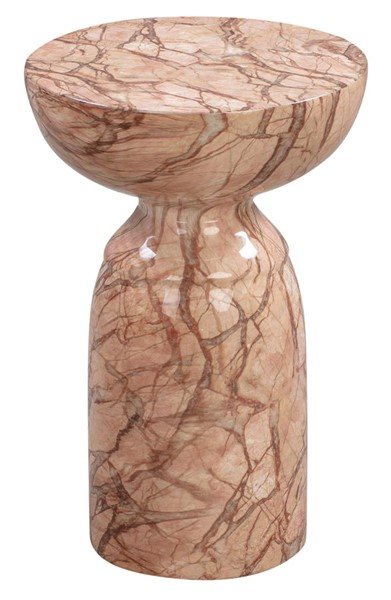 TOV Furniture Rue Sunset Marble Side Table TOV-OC44042