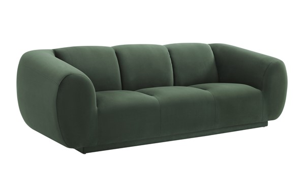 TOV Furniture Emmet Forest Green Velvet Sofa TOV-S6447