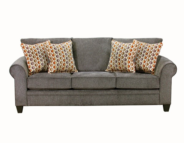 United Furniture Albany Pewter Simmons Sofa UNI-1647-03-Albany-Pewter