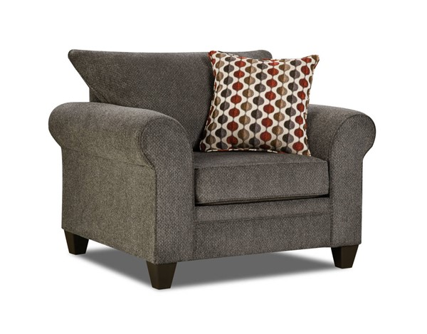 Lane Furniture Albany Pewter Chair UNI-1647-01-Albany-Pewter