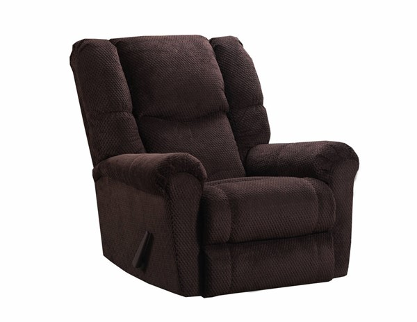 United Furniture Symphony Chocolate Simmons Power Rocker Recliner UNI-U283P-19-Symphony-Chocolate