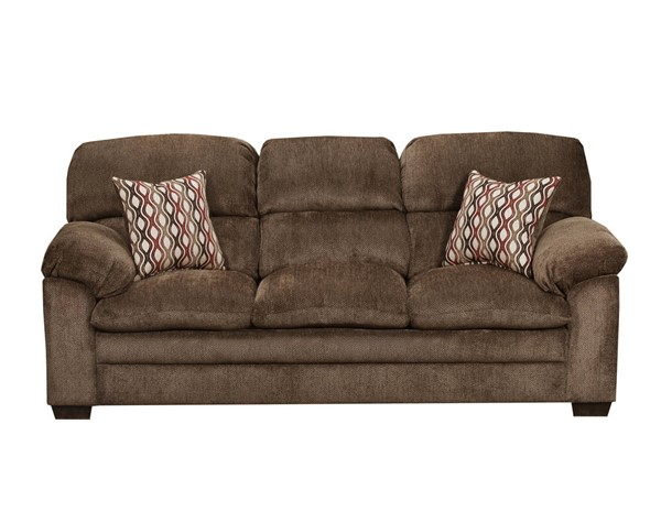 United Furniture Harlow Chestnut Simmons Sofa UNI-3683-03-Harlow-Chestnut