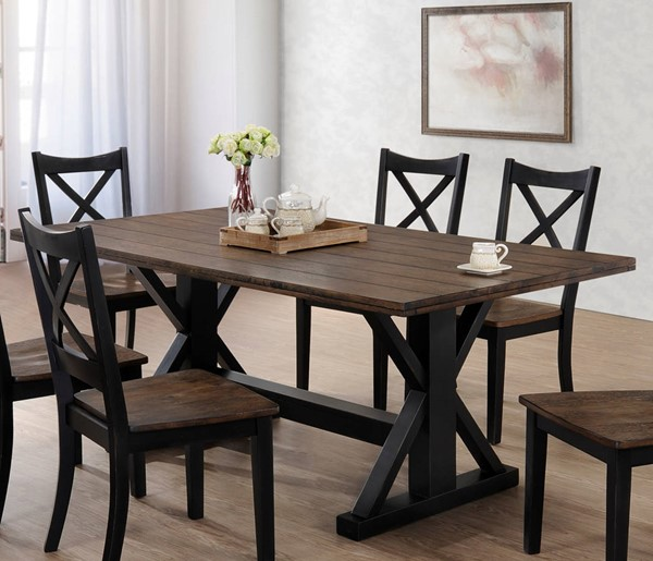 United Furniture Lexington Oak Dining Table UNI-5015-72