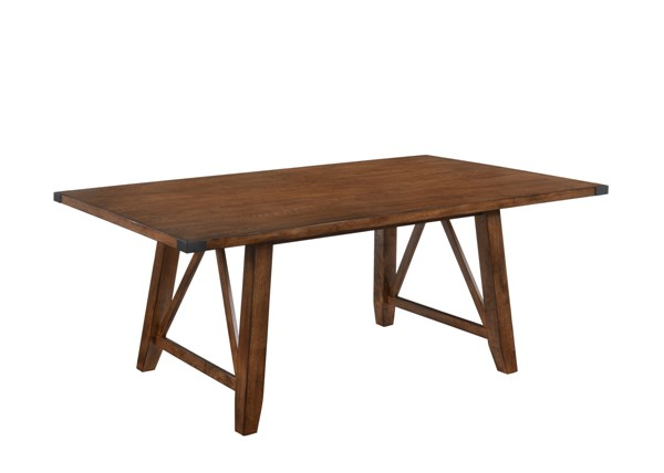 Lane Furniture Logan Oak Dining Table UNI-5022-72