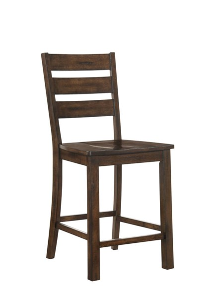 2 United Furniture Taos Burnished Oak Counter Height Chairs UNI-5031-55-2