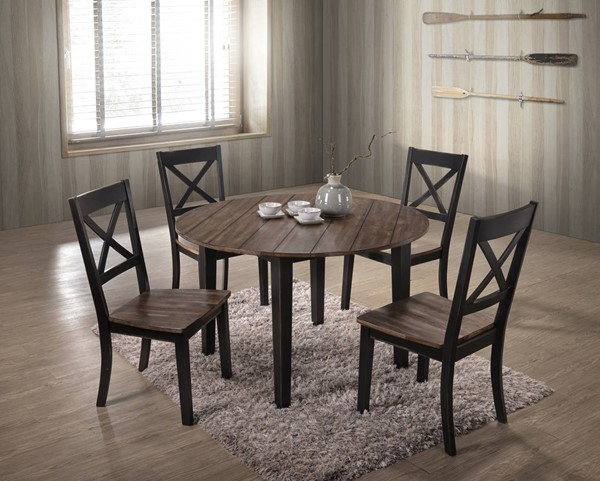 Lane Furniture A La Carte Black 5pc Dining Room Set UNI-5058-DR-S1